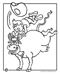 Small Picture Rodeo Bull Coloring Page Animal Jr