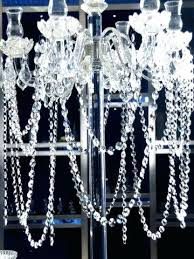 glass crystal tree garland brass wire for chandelier bead