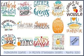 Free Machine Embroidery Sayings Designs Thanksgiving Sayings 14 Machine Embroidery Designs