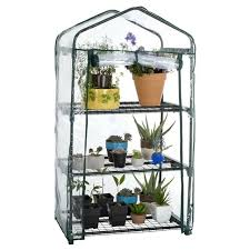 mini greenhouse plastic indoor kit small plant grow portable shelves house 3tier for