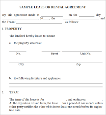 Microsoft Office Contract Template Lease Agreement Templates Word Excel Formats