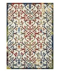love this product red blue victorian home garden indoor outdoor rug