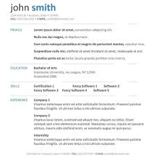 Resume Free Template Cv Template Cv Template Package Includes Professional Layout For 100 24