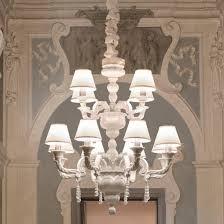 classic chandelier silk porcelain incandescent