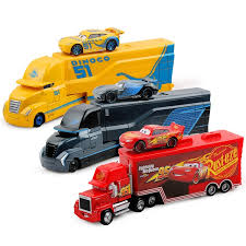 cars 2 toys diecast. Wonderful Toys Cars Disney Pixar 2 3 Toys Lightning McQueen Jackson Storm Cruz Mack  Uncle Truck 1 And Diecast N