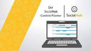 Social Hub Socialhub Der Content Planner