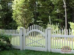 vinyl picket fence front yard. Since We Are Fencing In The Entire Yard, Will Need 2 Gated Entrances \u2013 One At Front\u2026 Vinyl Picket Fence Front Yard C