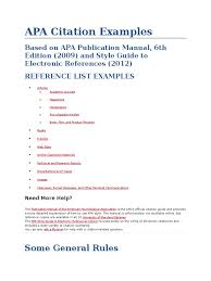 Download Apa Citation Docsharetips