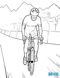 Coloriages Coloriage Tour De France Fr Hellokids Com