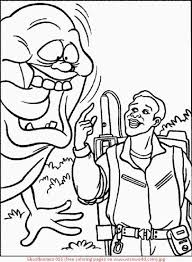 Small Picture Coloring Pages Ghostbusters Coloring Home