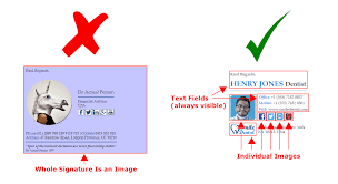Email Signature Using An Image As Your Whole Email Signature And Why Its A
