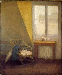 world away furniture. keeping the world away is primarily story of a picture i assume this on right painted by gwen john during her early years in paris and furniture h