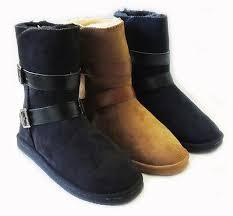<b>NEW</b> WOMENS WARM <b>WINTER COMFORT</b> BOOTS MID CALF ...
