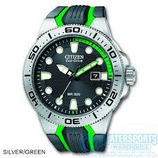 citizen s fin divers watch citizen mens s fin eco drive 200mtr dive watch green