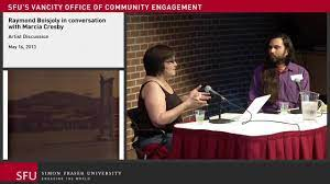 Raymond Boisjoly in conversation with Marcia Crosby - YouTube