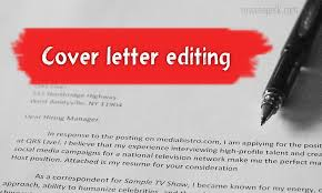 Cover Letter Editing Tips Make Your Cover Letter Shine