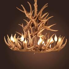 antlers resin chandelier lamp modern led antler chandelier re chandeliers e14 vintage lights novelty lighting kitchen pendants blown glass pendant