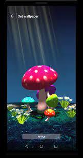 3D Mushroom Night Live Wallpaper for ...