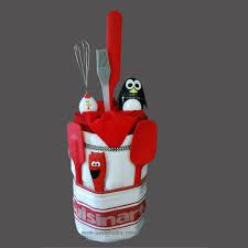 Kitchen Gift Basket Penguin Timer Cake Gift Basket O Basketality