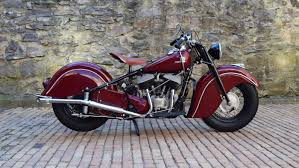 after world war ii indian motorcycles red clic front and rear fenders this is
