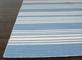 blue and white striped rugs uk