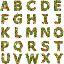 Free Christmas Alphabet Cliparts Download Free Clip Art
