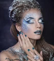 fairy snow makeup idea