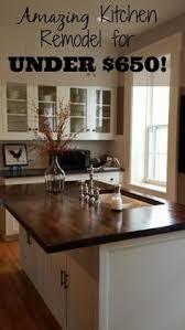 cheap kitchen remodel ideas. DIY Kitchen Makeover For Under $650! Cheap Remodel Ideas