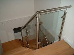 glass stair rail