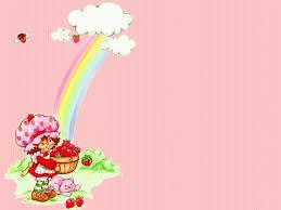 strawberry shortcake desktop wallpaper
