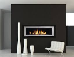 modern gas stoves. Image Black Modern Gas Fireplace Ideas Stoves