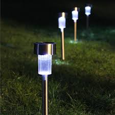 decorate the garden with solar landscape lights