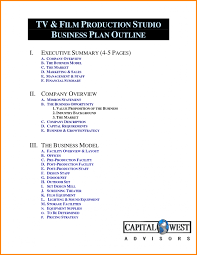Business Plan Proposal Outline Art Resume Examples For Film Company
