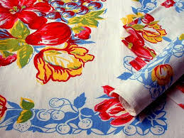 Image result for vintage tablecloth