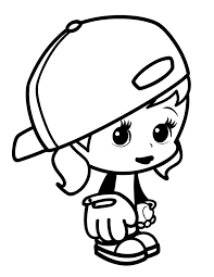 Small Picture Coloring Pages For Girls Coloring Kids