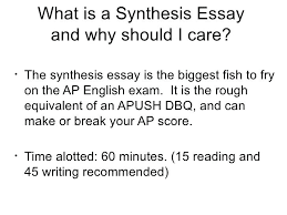 define synthesis essay how write good definition essay what  define synthesis essay how to write