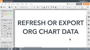 Ptv Org Chart Lucidchart Tutorials Refresh Or Export Org Chart Data
