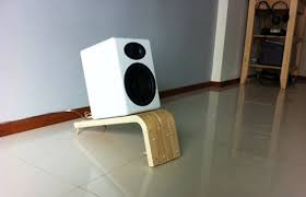 speakers and stands. undoubtedly one of the cooler ikea hacks we\u0027ve seen in a while, brandon from singapore takes 2 frosta stools and turns them slick speaker stands speakers