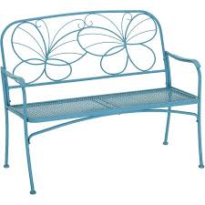 Mainstays Butterfly Outdoor Patio Bench Walmart