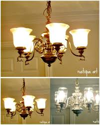 diy mason jar chandelier free tutorial