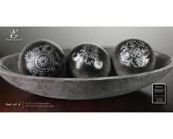 Decorative Bowl With Orbs How to Choose the Appropriate Concept of Decorative Bowls 24