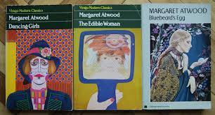 on my shelf margaret atwood violin in a void dancing girls 1977 the edible