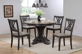 Amazoncom Iconic Furniture 5 Piece Deco Double X Back Dining Set