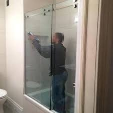 dfw 11 6 china 10mm clear tempered glass for frameless sliding tempered glass shower doors how