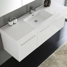 bathroom vanity single sink. Fresca Vista 60\ Bathroom Vanity Single Sink S