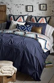 navy c and metallic chevron duvet bed set master bedroom