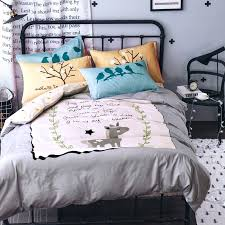 duvet cover twin xl size duvet cover twin size ikea cartoon fox dog parrot bedding set