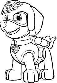 Small Picture Coloring Pages Paw Patrol Best Of Paw Patrol Coloring Pages Free