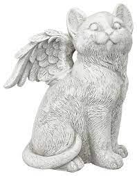large loving friend memorial cat angel