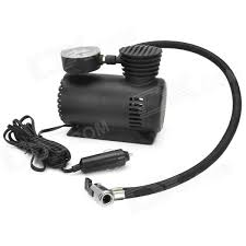 mini air compressor for car. portable mini auto electric air compressor w/ car charger - black (300psi / dc 12v) for a